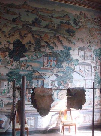 Carta Da Parati Per Sala.La Sala Della Carta Da Parati Cinese Foto Di Castello Di Govone
