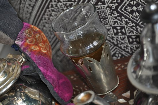 Riad Al Massarah: Morocan mint tea on arrival
