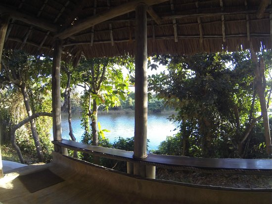 Ras Kutani: Lovely Lagoon outside Banda