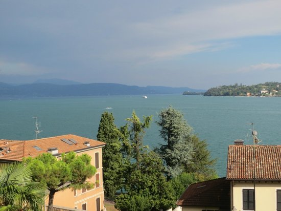 Hotel Laurin: view from our balcony