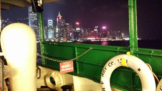 ท่าเรือ สตาร์เฟอร์รี่: Harbor view at night from Star Ferry
