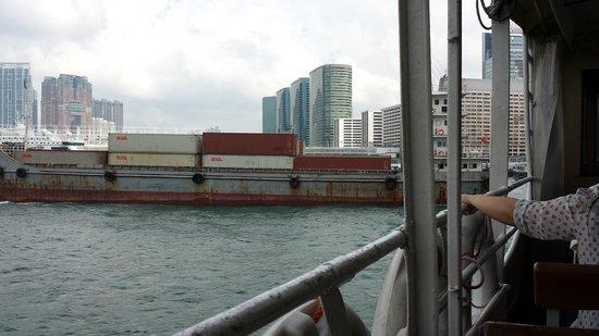 ท่าเรือ สตาร์เฟอร์รี่: Other boats get a bit close at times, safely though.