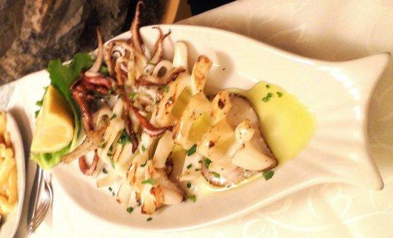Ristorante IL Panorama  & C. Snc: Grilled Calamari