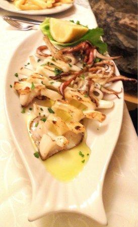 Ristorante IL Panorama  & C. Snc : Grilled Calamari