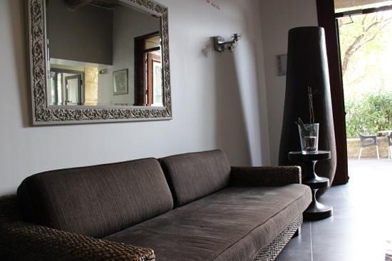 Hotel En Ville: Vue depuis le hall de l'hotel