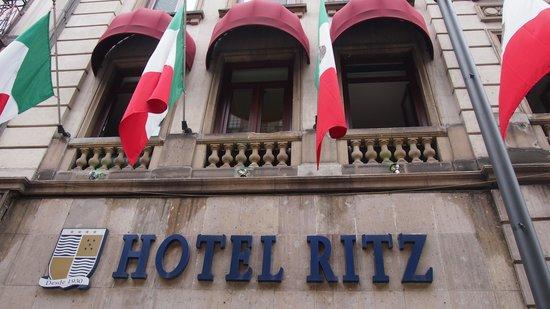 Hotel Ritz Mexico: voorkant van het Hotel