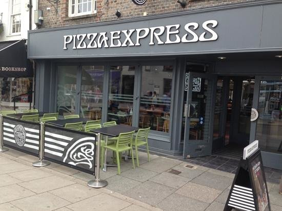 Something Wrong With The Ice Pizza Express Chichester