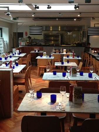 Pizza Express: Great design!