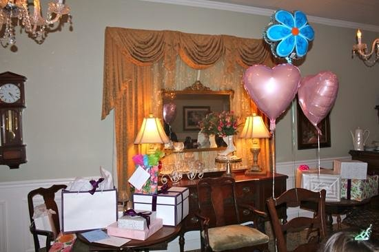 Gift Table At The British Bell Bridal Shower Picture Of