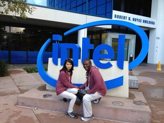 Intel Corp and Museum: entrance