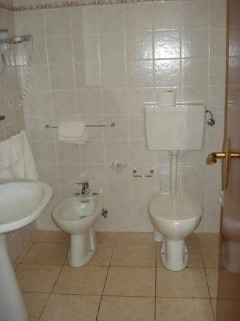 La Meridiana Hotel : bagno