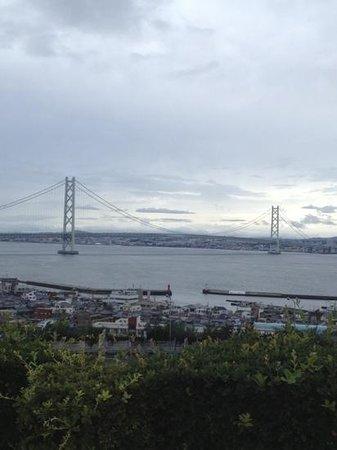 Awaji Highway Oasis: 天気がいいと大迫力です。