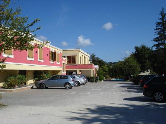La Meridiana Hotel : esterno