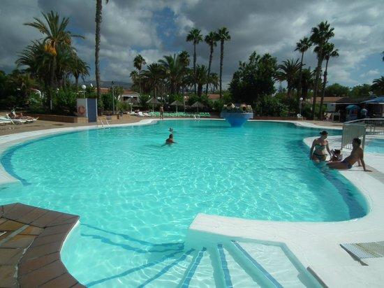 Bungalows Las Vegas Golf: accès facilité pour l'entrée et sortie de la piscine