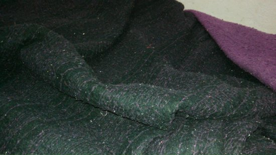 Pousada Ecologica Bicho Preguiça : Cobertor