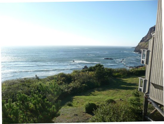 Inn at Otter Crest: Ocean view from the resort