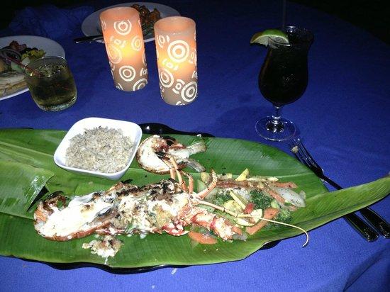 Sand Castle on the Beach: Lobster Dinner