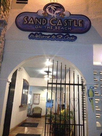 Sand Castle on the Beach: Sand Castle