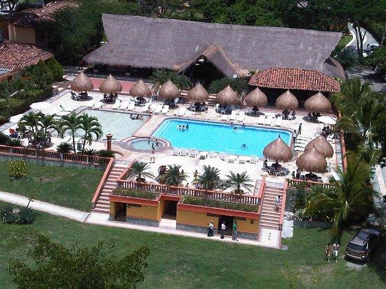 Hotel Porton del Sol: VISTA DESDE EL GLOBO