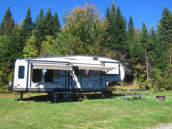 Ramblewood Cabins and Campground: The best site in the house