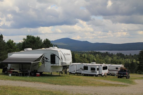 Ramblewood Cabins and Campground: great view