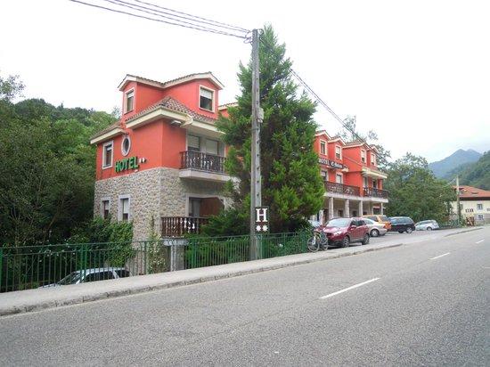 Hotel El Molino: Edificio del hotel