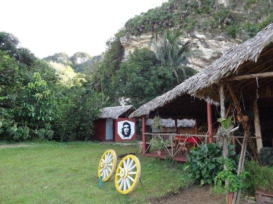 Vistas  desde el Restaurant la Cueva.