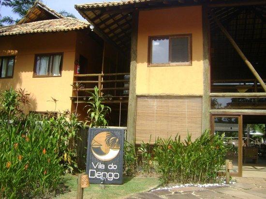 Pousada Vila do Dengo: Facha do hotel