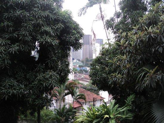 Bossa in Rio Hostel: vista do centro do rio,linda ...