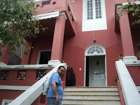 Bossa in Rio Hostel: entrada