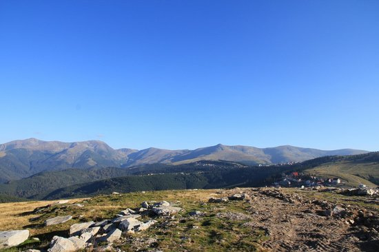 Transalpina Road: Transalpina- view from the plateau