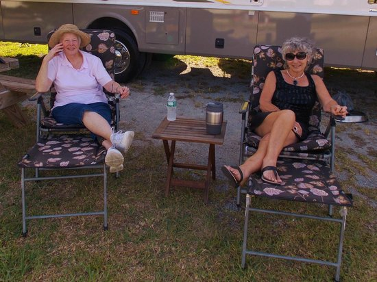 Sands of Time Campground: Plenty of space between sites