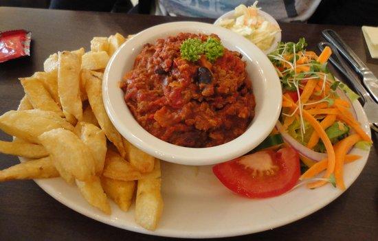 Bizzie Lizzie's - Swadford Street: Strange tasting chilli con carne