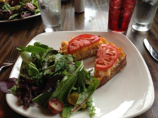 Ona Restaurant and Lounge: Dungeness crab and shrimp melt