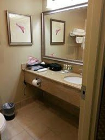 Country Inn & Suites By Carlson, Manchester Airport : Bath vanity