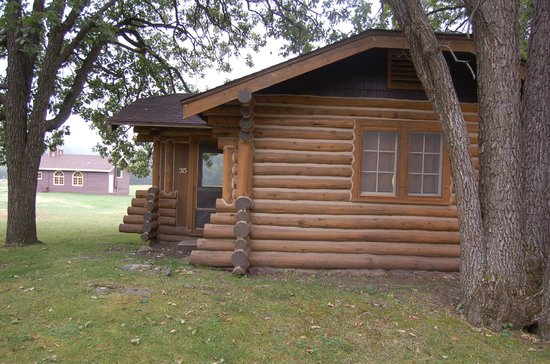 Cabin at the State Game Lodge, Custer State Park