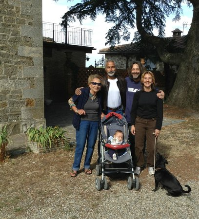 Villa Astreo : Our hosts - Rosanna, Francesco and Chiara