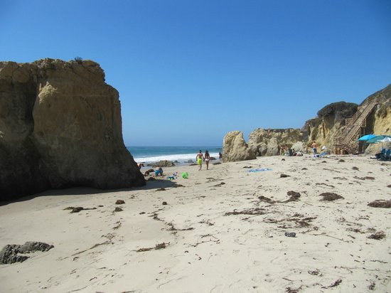 El Matador State Beach: the beach