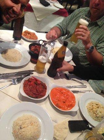 Maisha Restaurant: Indian food and beer