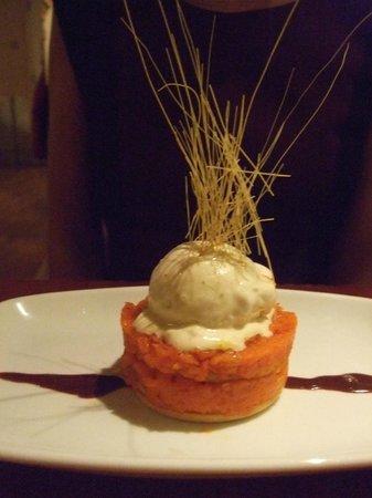 Masala Zone Islington: Carrot dessert