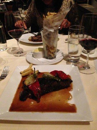 MK The Restaurant : Steak and Pomme frites