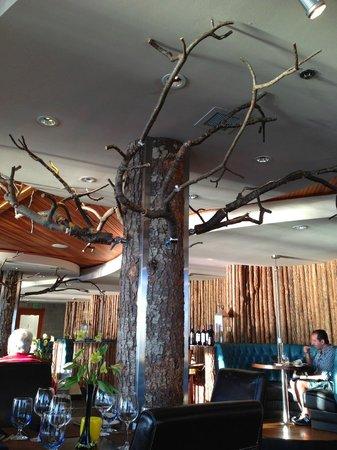 Six Seven Restaurant Unique Decor