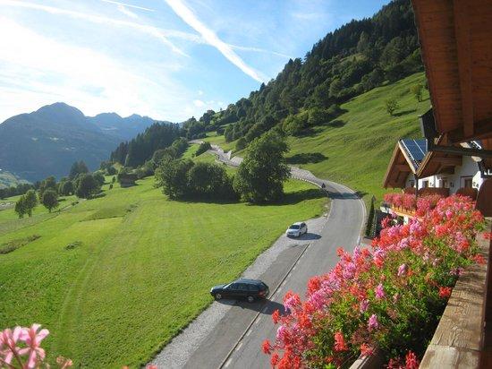 Hotel Lahnerhof: Vista dal balcone della camera