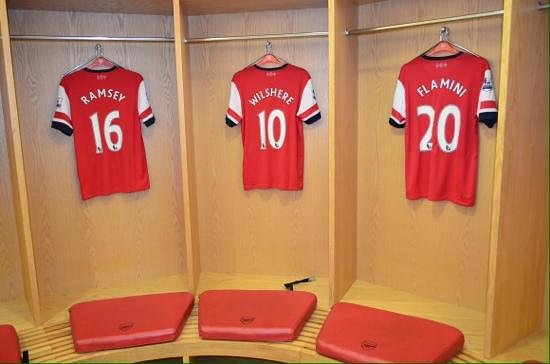 Arsenal Stadium Tours Museum Players Dressing Room