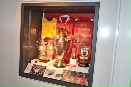 Arsenal Stadium Tours Museum Emirates Trophy Cabinet