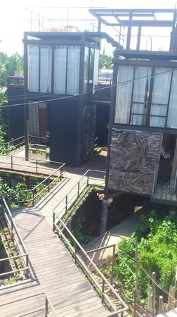 Bangkok Tree House Open Air Showers
