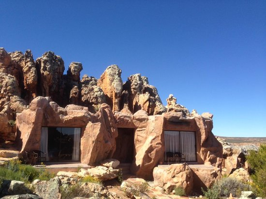 Kagga Kamma Nature Reserve: loved, Loved, LOVED THE CAVE ROOM!!