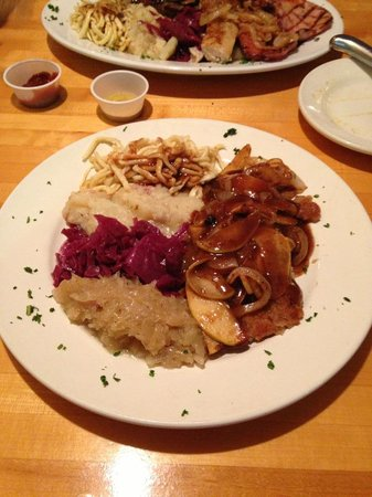 Black Forest : Schnitzle & Veal