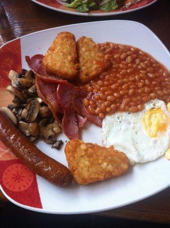 Cafe Maya : Lovely English Breakfast