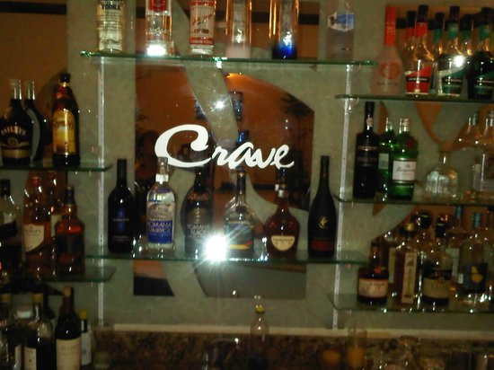 Crave Restaurant: Speciality Cocktails all night long